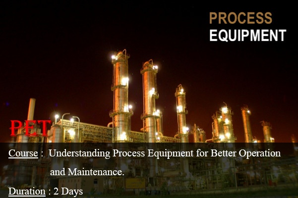 Understanding Process Equipment For Better Operation and Maintenance (GE01)