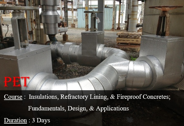Insulations, Refractory Lining, and Fireproof Concretes; Fundamentals, Design, and Application (GE19)