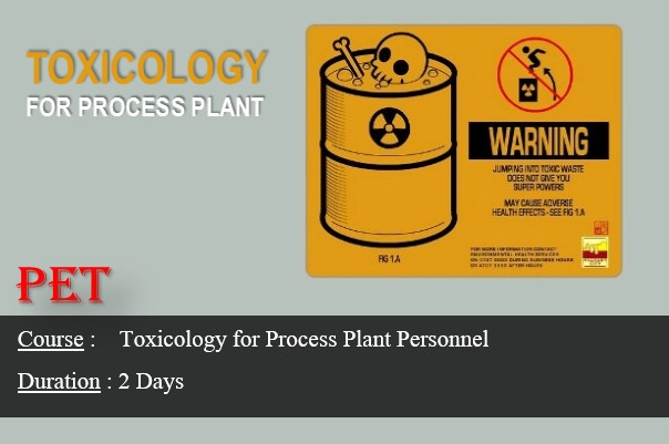 Toxicology for Process Plant Personnel (GE18)