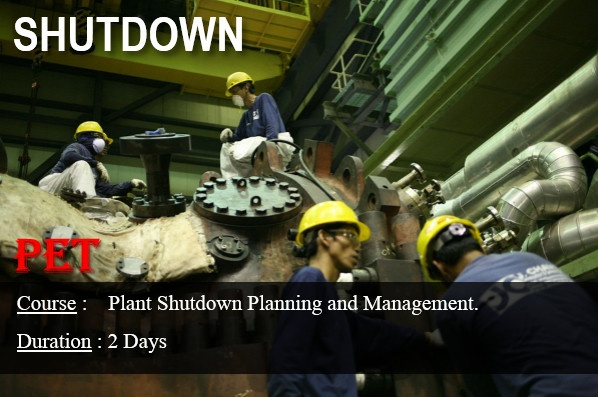 Plant Shutdown Planning and Management (GE09)