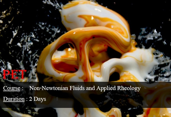 Non-Newtonian Fluids and Applied Rheology (ME48)