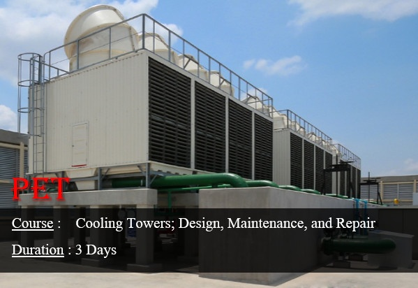 Cooling Towers; Design; Thermal and Troubleshooting (ME28)