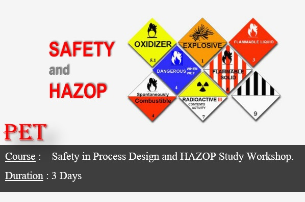 Safety in Process Plant Design and HAZOP Study Workshop (GE08)