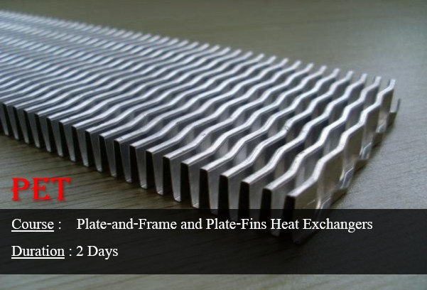 Plate-and-Frame & Plate-Fins Heat Exchangers (ME43)
